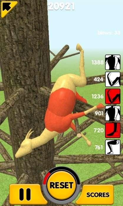 Animal Dismount – игра в которой можно кидать козу