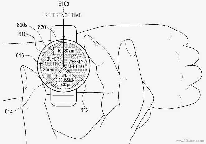 Круглые часы от Samsung - Gear A