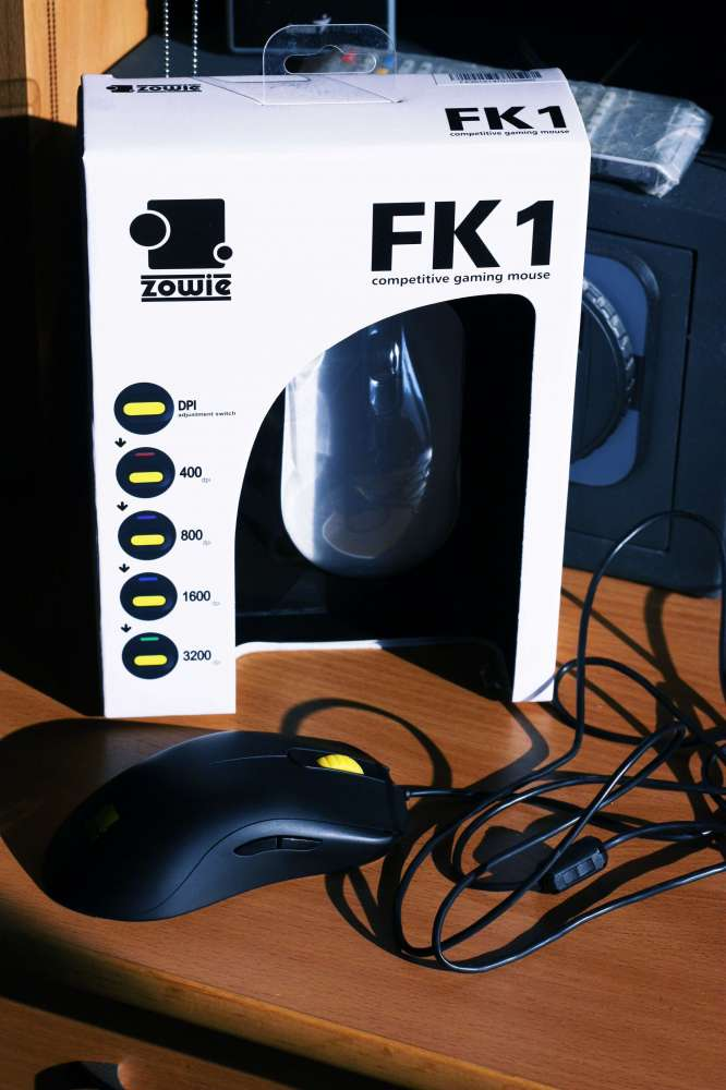 Обзор геймерской мыши Zowie FK1