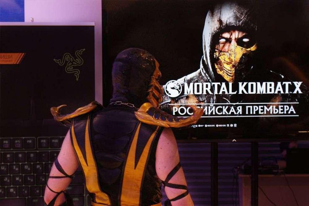 Предрелизный старт продаж Mortal Kombat X в М-Видео