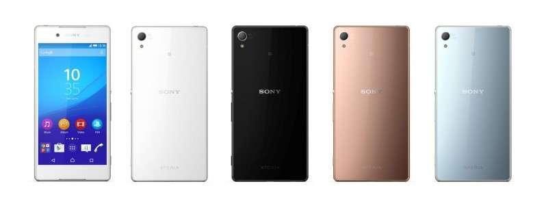 Sony Xperia Z4 официально