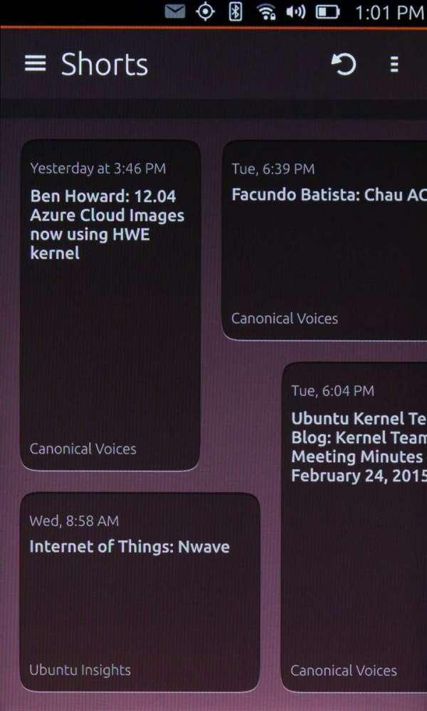 Сравнение интерфейсов: Android Lollipop, Firefox OS, Ubuntu Touch