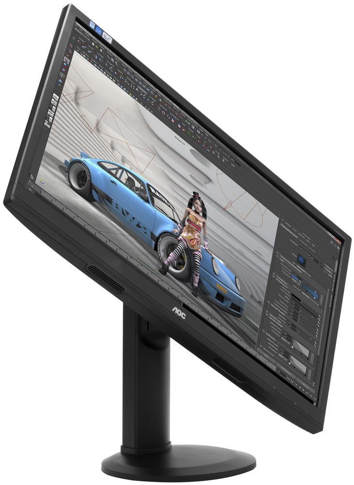 Монитор AOC U2868QU: 4K-разрешение на большом экране