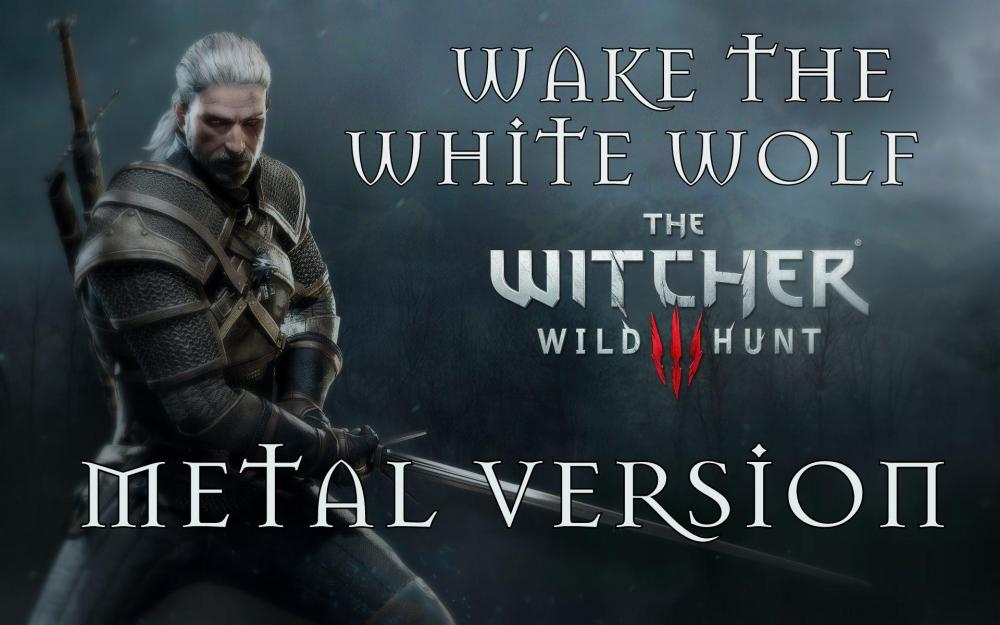 Музыкальная тема игры Ведьмак 3 в стиле heavy metal