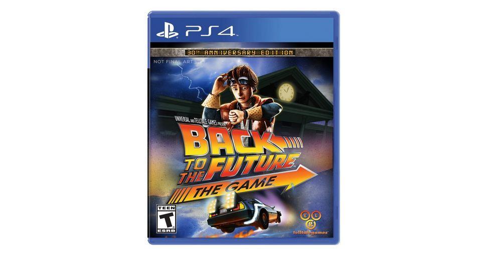 Назад в будущее выйдет для PS4 и Xbox One