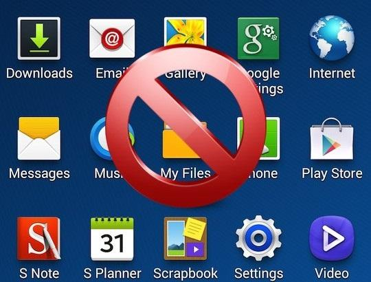 Samsung разрешают удалять приложения после иска в суд