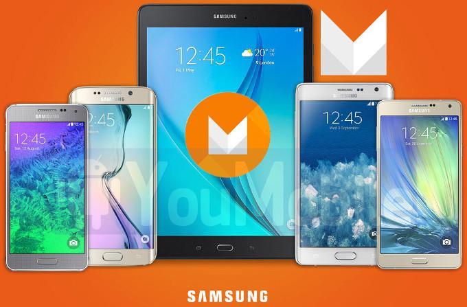 Устройства Samsung, которые получат Marshmallow в начале 2016 года