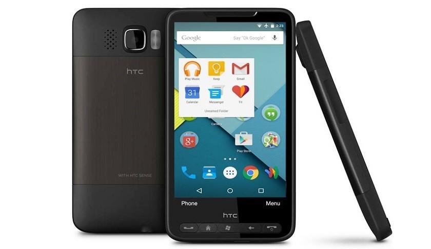 Android Marshmallow запустили на HTC HD2