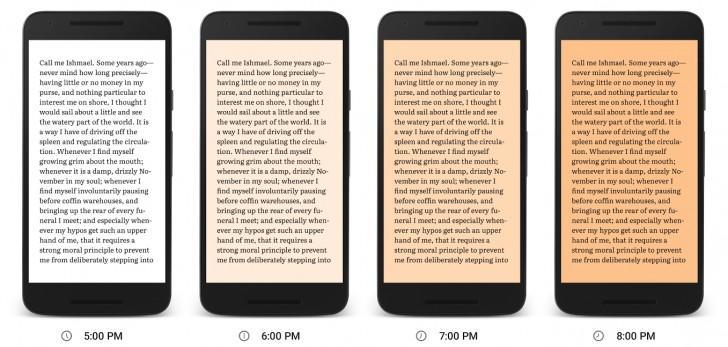 Google Play Books начинает заботиться о глазах и релизах