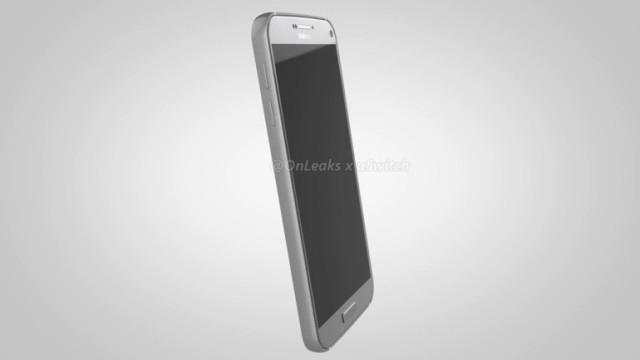 Таким внешне может оказаться Galaxy S7