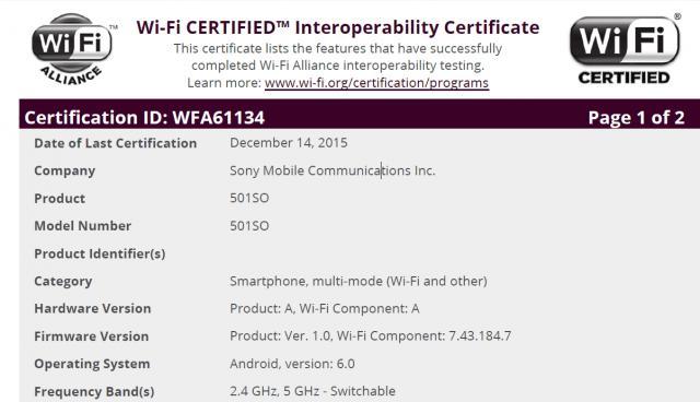 Замечены Xperia Z5 и Z4 под управлением Marshmallow в Японии