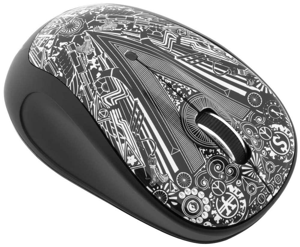 Беспроводная мышь SVEN RX-360 Art: дизайн офисной функциональности
