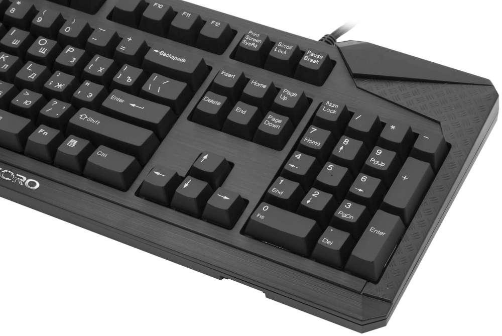 Игровая клавиатура Tesoro Durandal: качество победителя