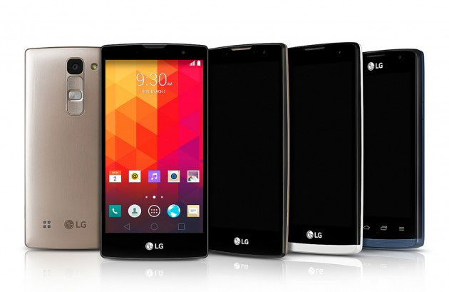 LG показали 4 новых бюджетных смартфона