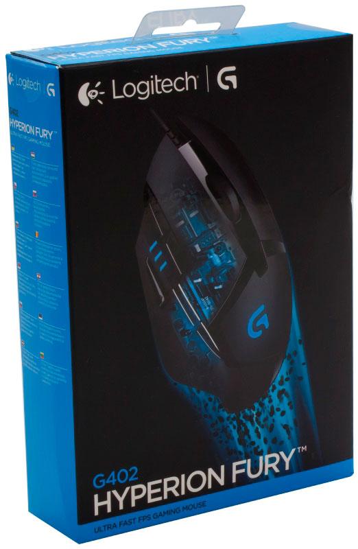 Logitech G402 Hyperion Fury: игровая мышь высокого качества