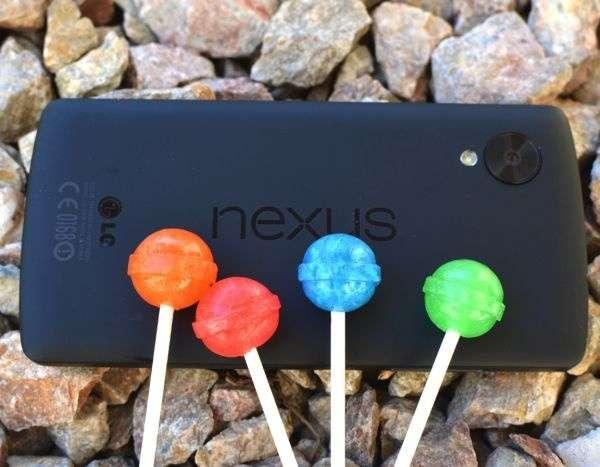 Nexus 5 уже примерил Android 5.2
