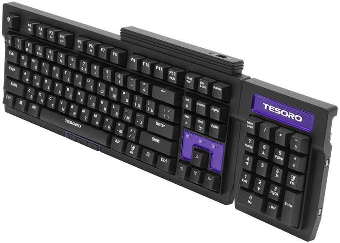Обзор клавиатуры Tesoro Tizona: компакт для геймера