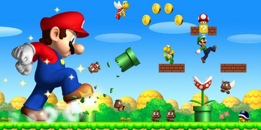 Mario на движке Unreal Engine