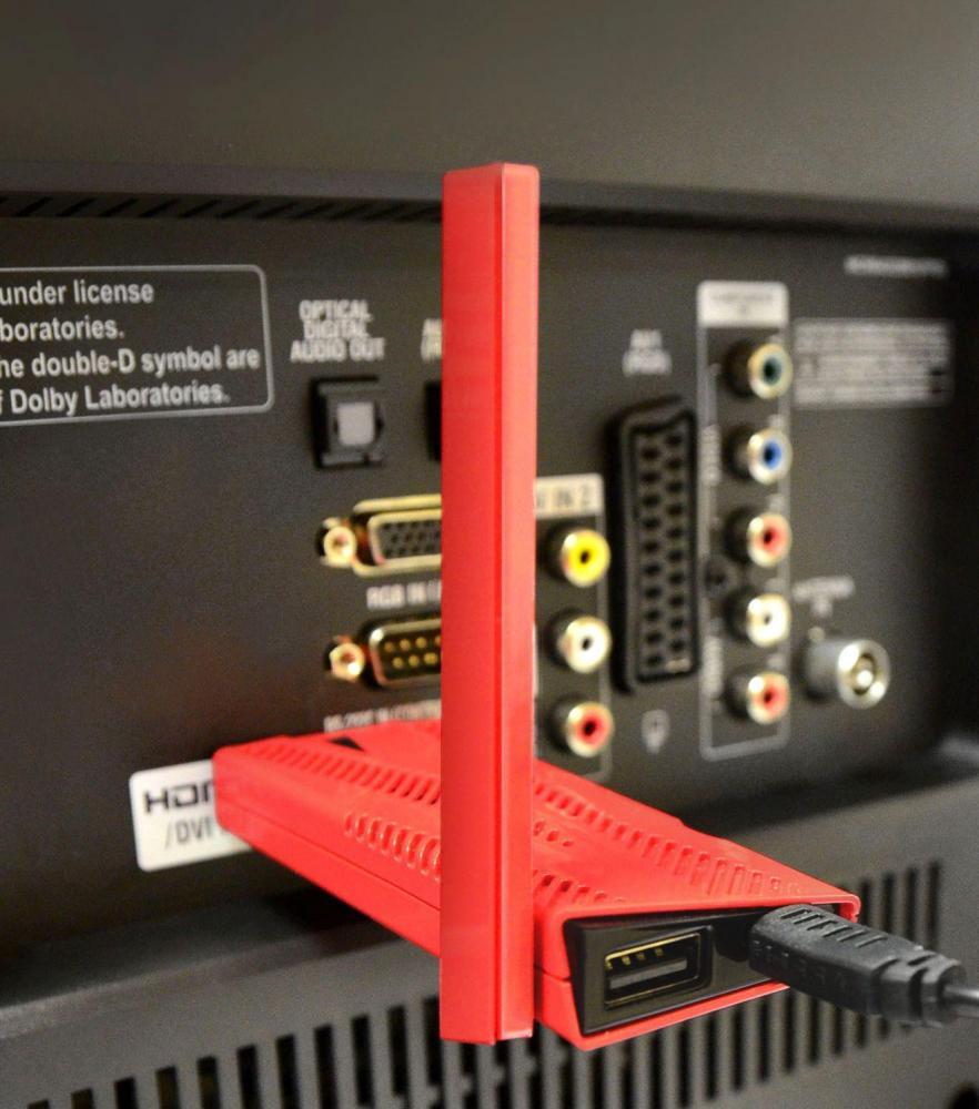 Обзор приставки Tivion D4100 – «умный донгл»