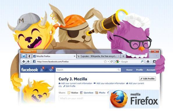 Логотип браузера Mozilla