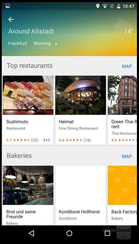 Android M и Android Lollipop: сравниваем визуально