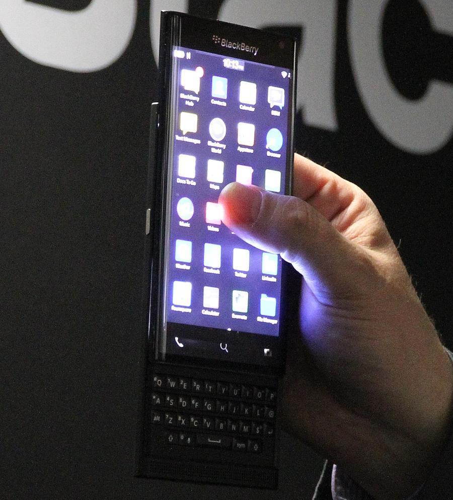 Blackberry может выпустить смартфон с Android на борту