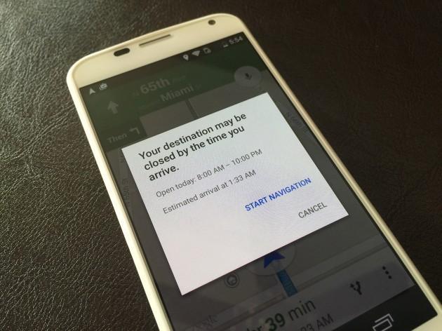 Google Maps нучились предупреждать об опозданиях
