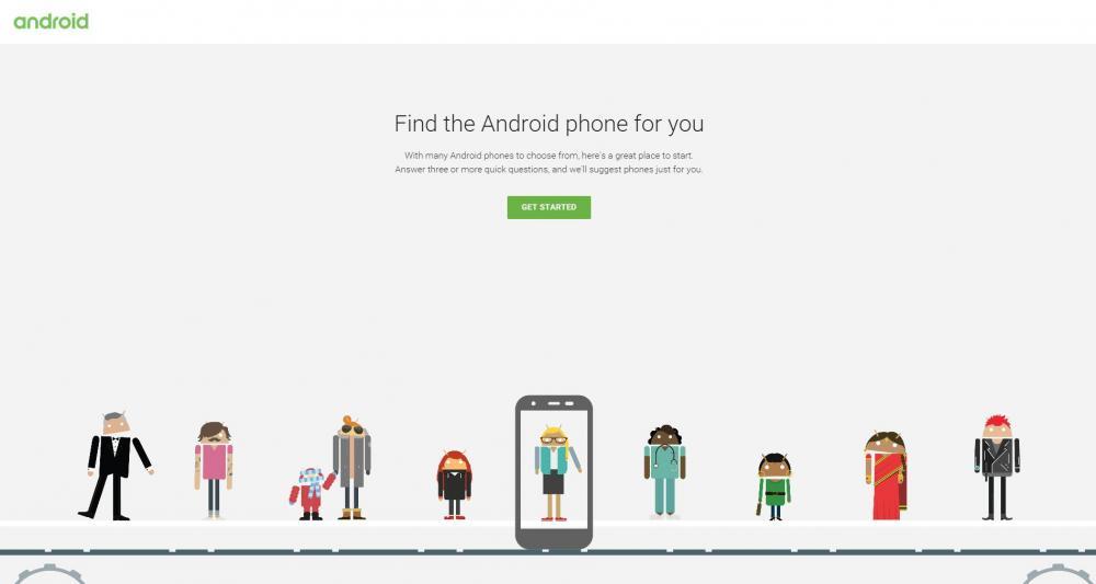 Google поможет с выбором смартфона