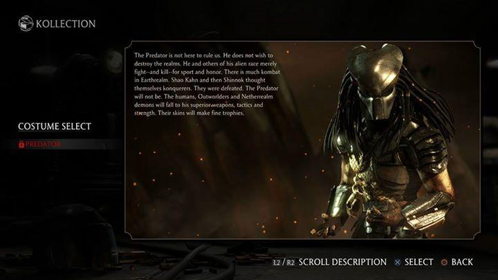 Хищник появится в Mortal Kombat X в июле