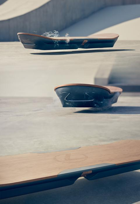 Ховерборд от Lexus, Назад в будущее наступает