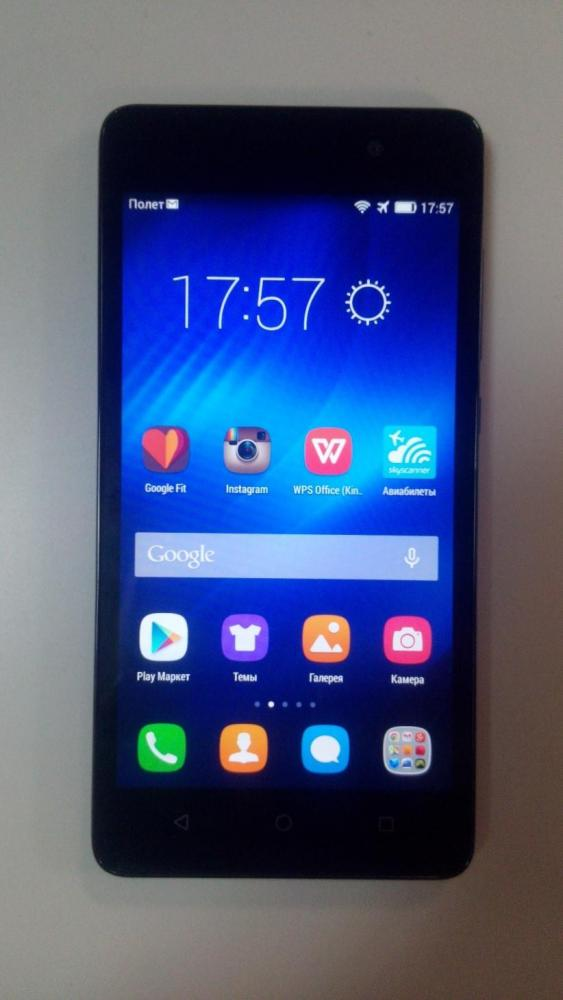 Обзор: смартфон Huawei Honor 4C