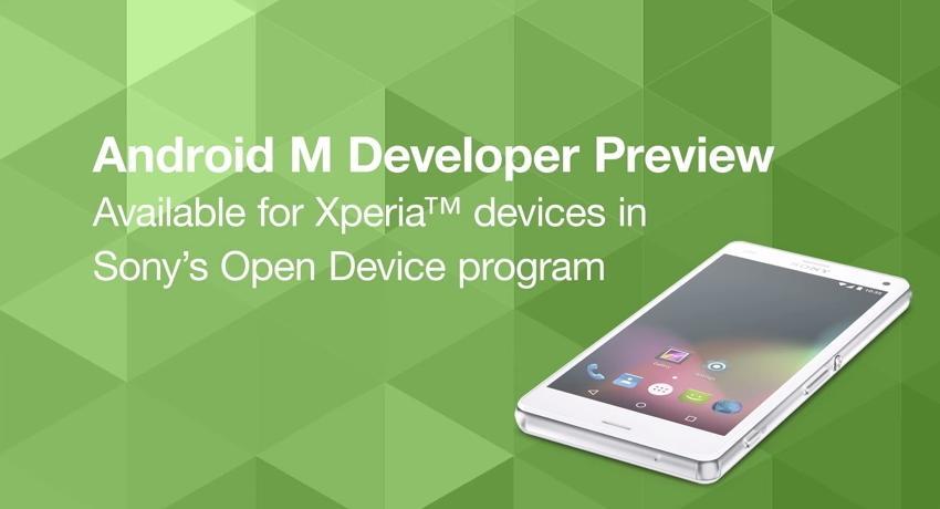 Превью Android M доступен владельцам смартфонов Sony