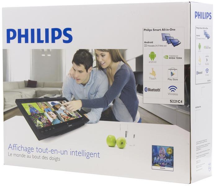 Смартмонитор Philips S221C4 для замены домашнего ПК