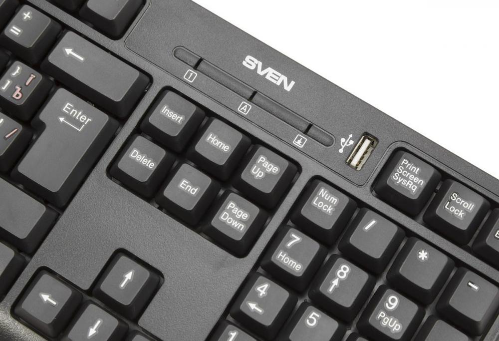 SVEN Standard 304: клавиатура по антикризисной цене