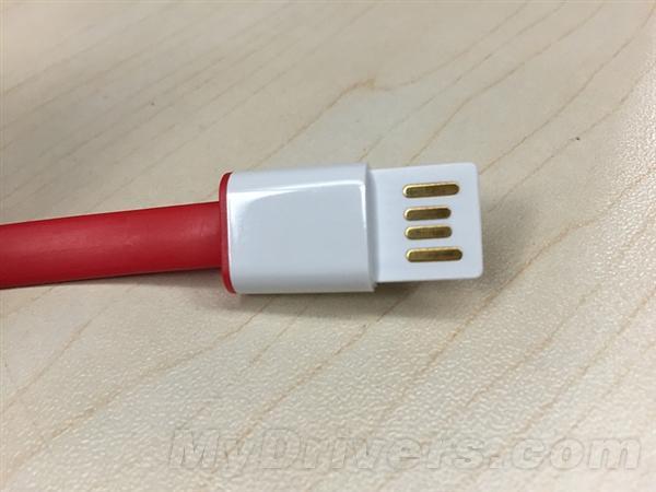 Вот как выглядит USB Type-C для смартфона OnePlus 2