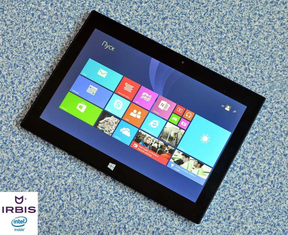 Два в одном: обзор Irbis TW89 – нового планшета-трансформера на Windows  8.1