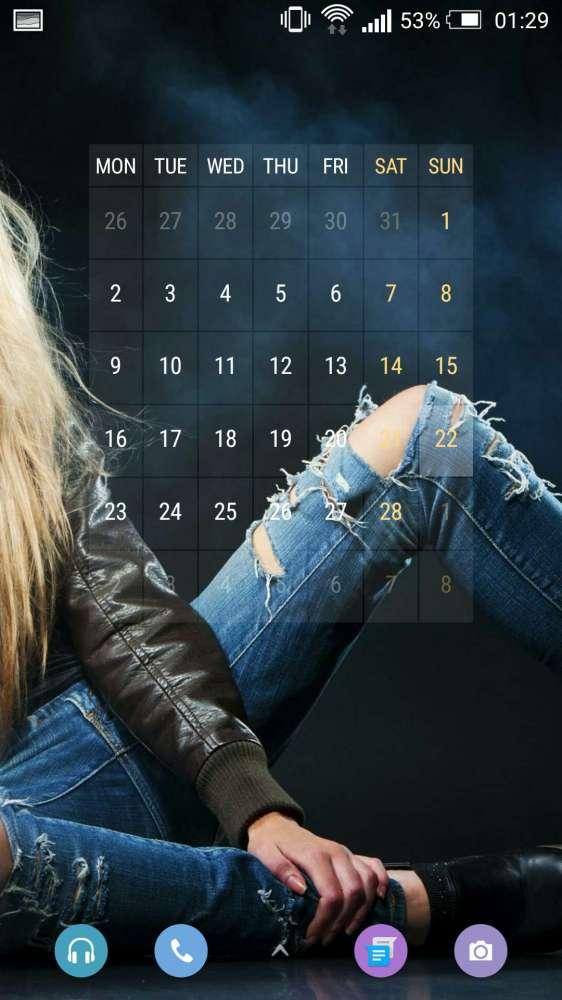 Event Flow Calendar Widget - очень гибкий календарный виджет