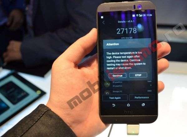 Он всё же греется. Qualcomm или HTC M9?