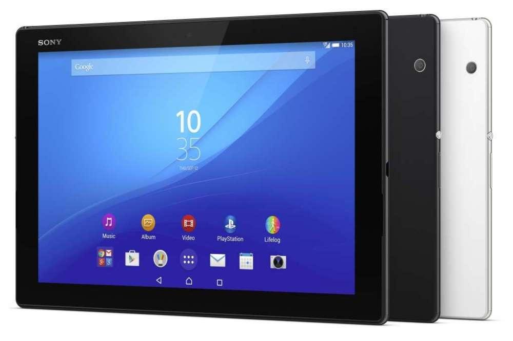 Sony демонстрируют Xperia Z4 Tablet и Xperia M4 Aqua