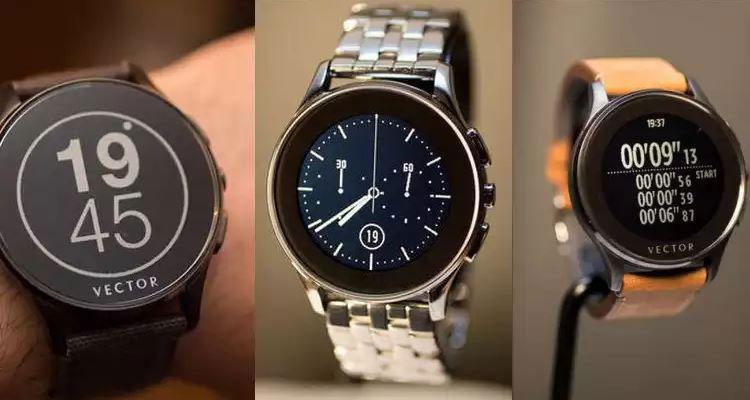 Умные часы от Vector выдержат 30 дней без заряда