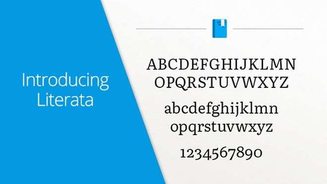 Google представила новый шрифт для чтения и Play Books
