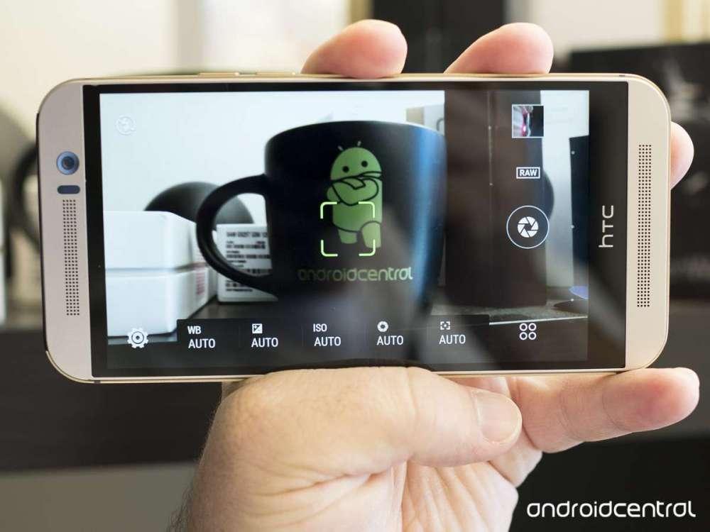 HTC One M9 Научился снимать в RAW