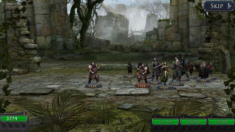 Рейды игры Властелин колец Легенды средиземья для мобильных платформ