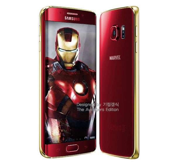 Samsung готовит смартфон для Жлезного Человека