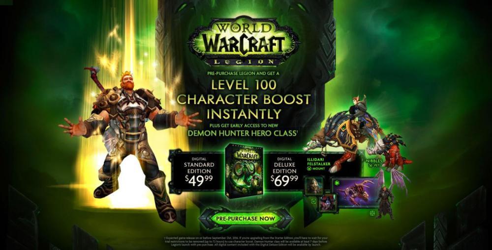 Blizzard анонсировала дополнение для Wordl of Warcraft
