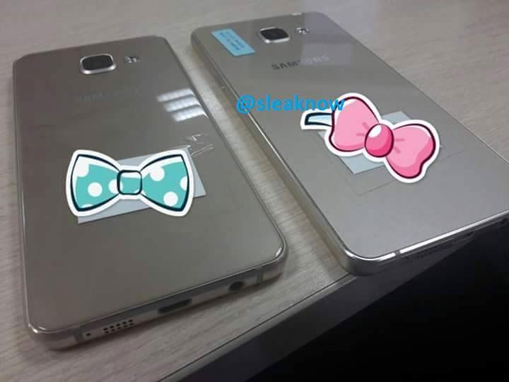 Фотографии Samsung Galaxy A3 и Galaxy A5 2016