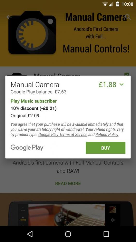 Google Play одаривает скидками подписчиков Play Music