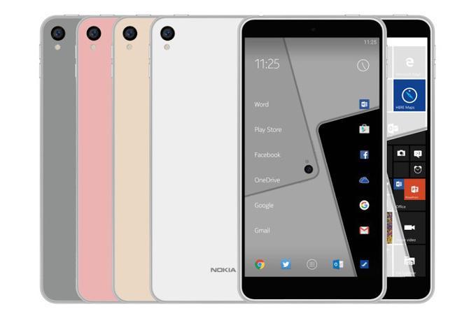 Смотрим на рендеры Nokia C1 на базе Android