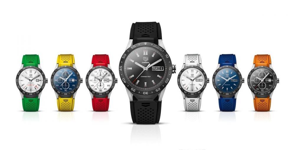 TAG Heuer показала швейцарские умные часы