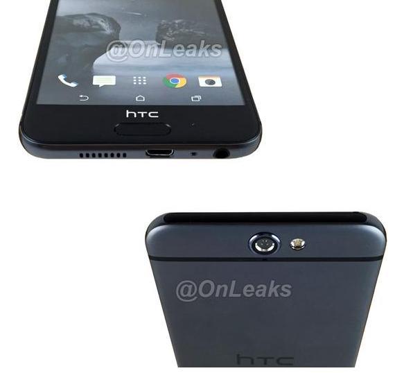 HTC One A9 попал в объектив